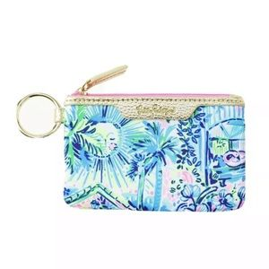 NWT Lilly Pulitzer Key ID card case
